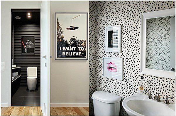 banheiro em preto e branco 1