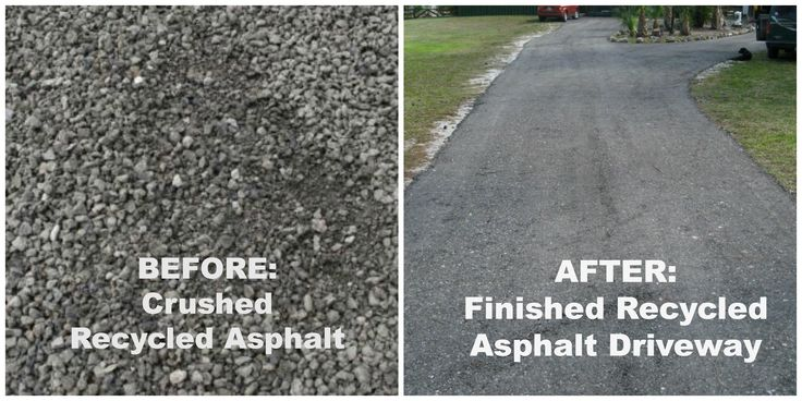 Recycled asphalt benefits the earth and your wallet