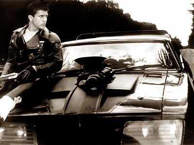 Mel Gibson. Mad Max. 1979.