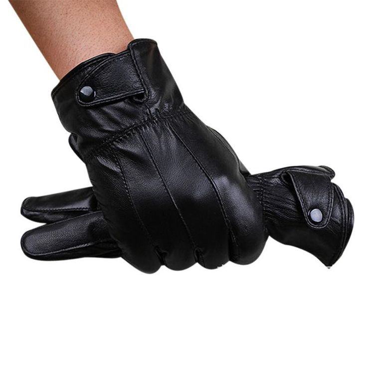 gloves men Winter Super Driving Gloves With Cashmere Warm motorcycles cool gloves Guantes de invierno para hombres#LN