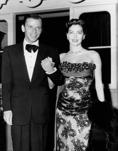 In Memory of Frank Sinatra and Ava Gardner out on the town. KL Funeral Service http://www.funeralservicesmy.blogspot.com