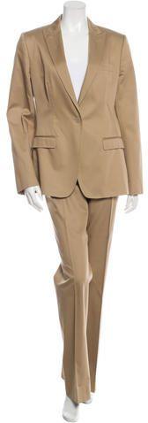 Dolce & Gabbana Straight-Leg Pant Suit