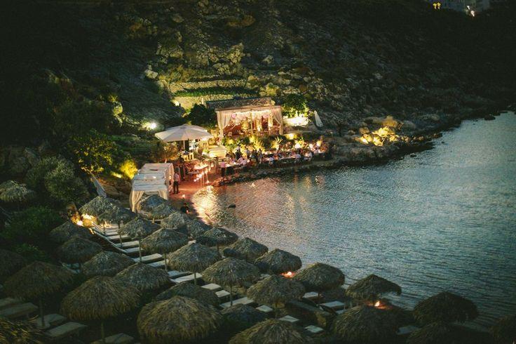 #GoldenAppleWeddings - #DestinationWedding In St. Paul #Lindos #beachwedding #weddingplanners #reception #Greece #Rhodes #wedding #weddingreception #weddingvenue #summer