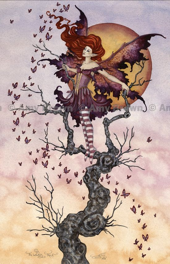 Amy Brown - The Wind's Tale