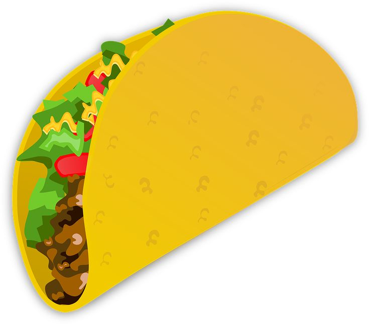 Taco, Wrap, Mad, Mexican, Fastfood, Sandwich