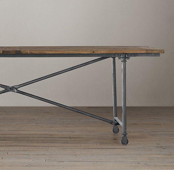 Flatiron Dining Tables Rectangular Dining Tables  : c6b216073010434ffe00ba301d7d8ce1 from www.pinterest.com size 605 x 590 jpeg 39kB