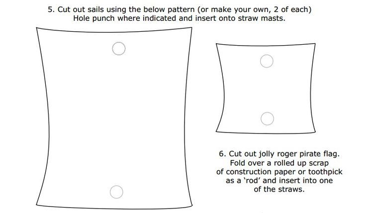 Pirate Ship Sail Template - Google Search