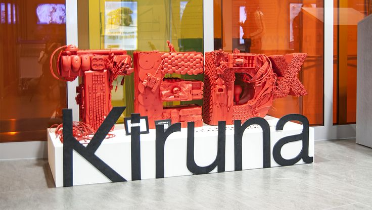 Display for TEDx Kiruna by Geektown, Luleå - Sweden