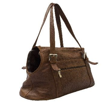 Leather carrier bag http://daniesfashion.com/