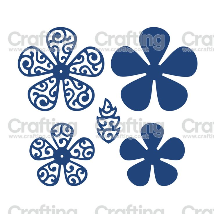 Tattered Lace Dies - Lacy Forget-Me-Not