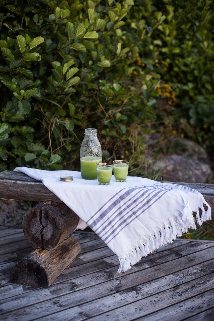 Cucumber & Honigtau schütteln |  Tuulia Blog