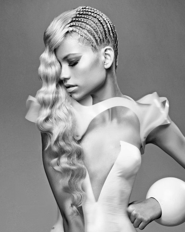 Hairstylist: Jasmine Gibbs, NY  NAHA winner  Photographer: Nico Iliev