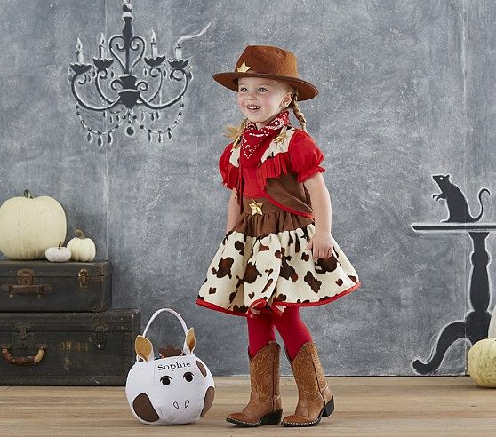 Toddler Cowgirl Costume | Pottery Barn Kids