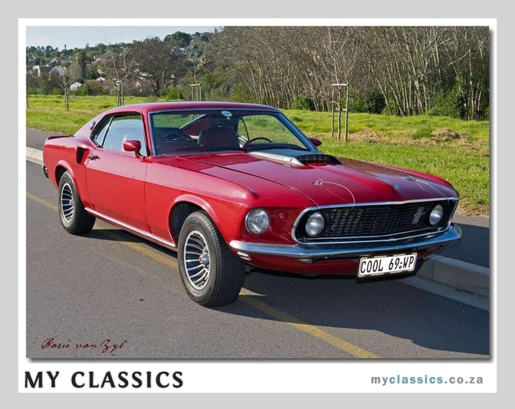 1969 Ford Mustang Fastback Mach1 classic car