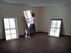 Resultado de imagen de falsas ventanas decorativas                                                                                                                                                     Más