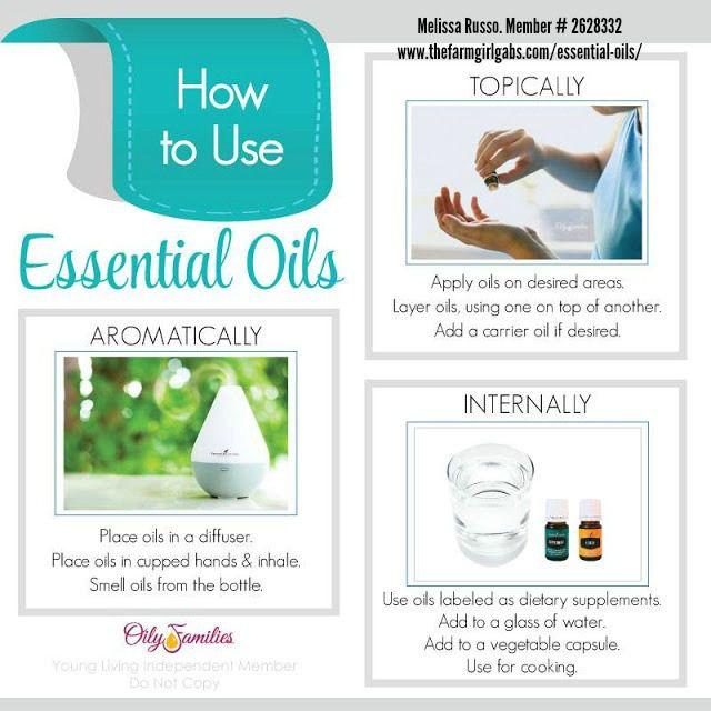 Young Living Essential Oils - Melissa Russo - Member #2628332 www.thefarmgirlgabs.com/essential-oils/
