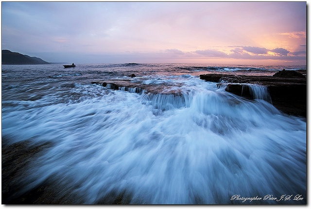 Morning sunrise at Coalcliff.The SouthCoast, NSW, Sydney, Australia. Taken 08 December 2012.