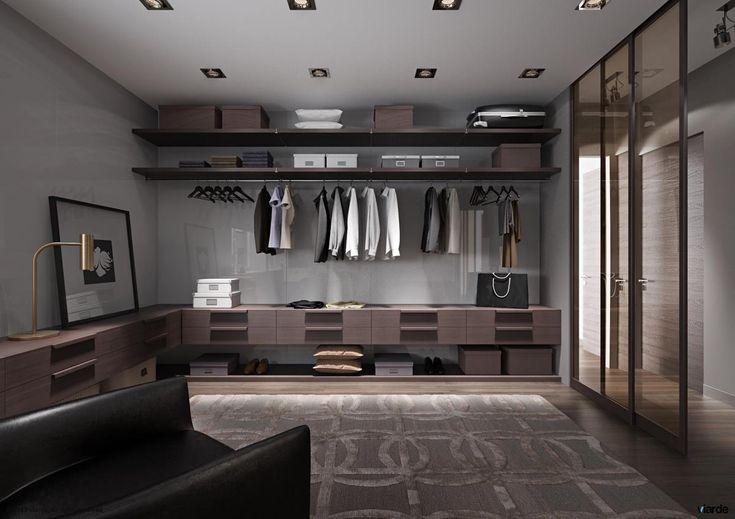Massive walk in closet