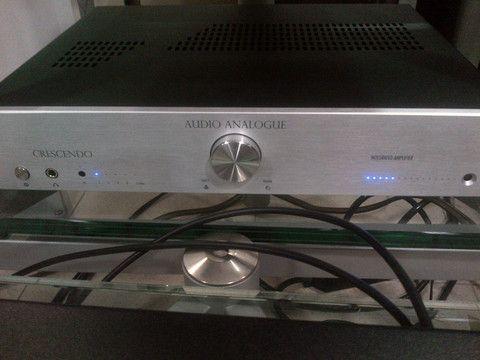 Audio Analogue Crescendo Integrated Amplifier DEMO UNIT, Silver