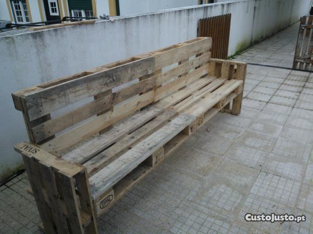 mesa jardim custojusto : mesa jardim custojusto: banco de palete – trocar Casa e Jardim usados