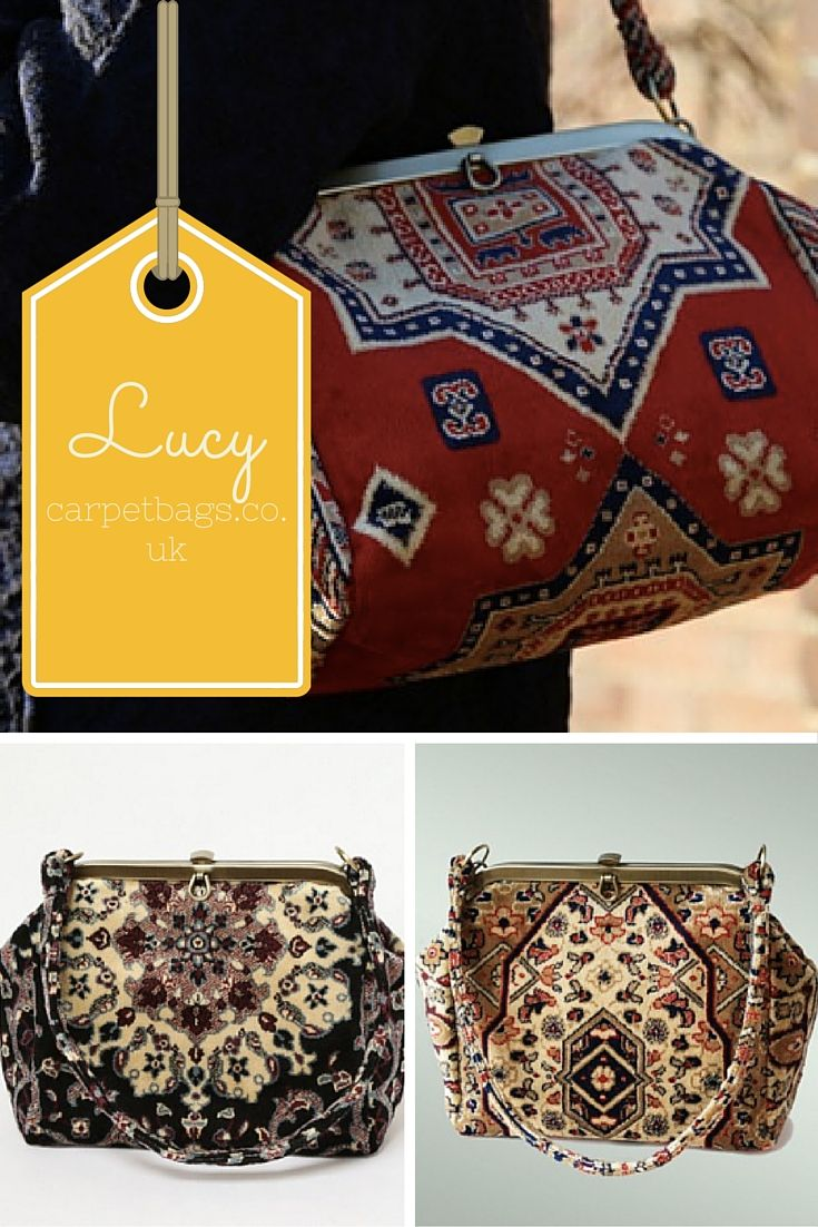 Lucy bag RRP £99 www.carpetbags.co.uk