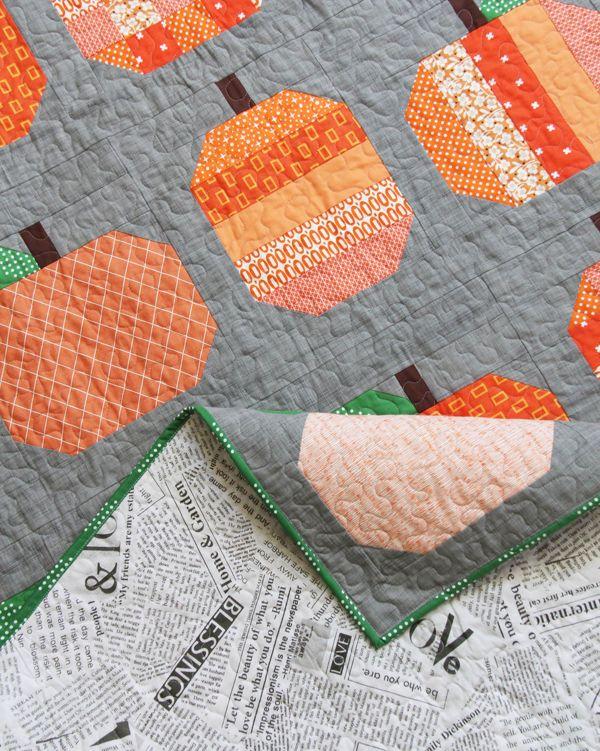 Best 25+ Pumpkin quilt pattern ideas on Pinterest | Fall quilts ... : pumpkin quilt pattern - Adamdwight.com