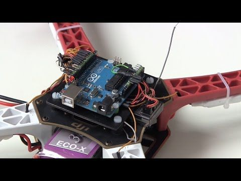 YMFC-3D part 6 - Build your own Arduino quadcopter flight controller with source code.. - YouTube