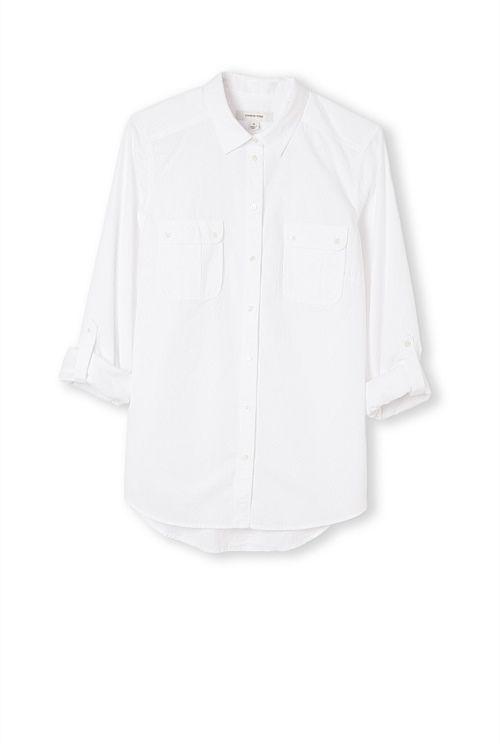 Roll-Up Seersucker Shirt