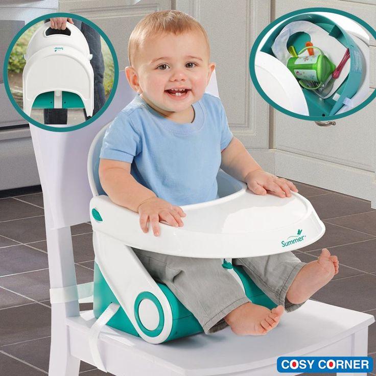 Compact Φορητό Κάθισμα - Διπλώνεται εύκολα σε πολύ πρακτικό μέγεθος ώστε να είναι ιδανικό για ταξίδια. Ρυθμιζόμενη κλίση (2 θέσεις). https://goo.gl/157bQe