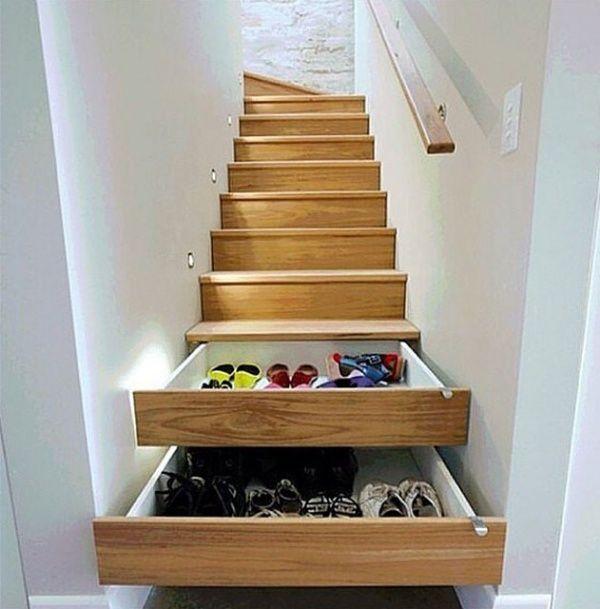 Küçük Evlere Büyük Çözümler: Ayakkabılarınız İçin Farklı Depolama Fikirleri