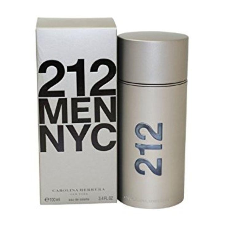 212 by Carolina Herrera Men Eau De Toilette 3.4 oz