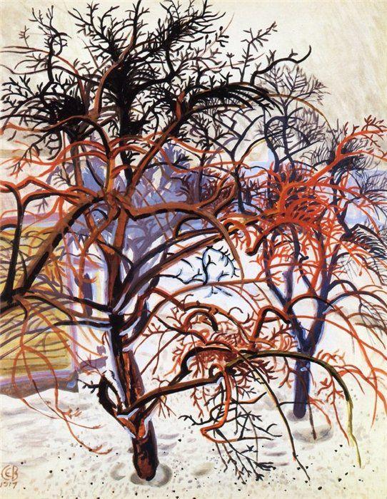 Trees,1917 - Charles Burchfield