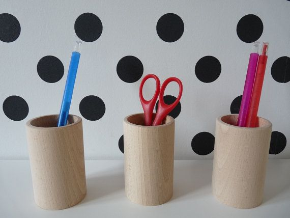 Set of 3 wooden pencil holders , wooden desk organizers, wooden tube, unfinished crayons holder, wooden cup for decoupage, unfinished wood Craft Supplies & Tools  Woodworking Supplies  Wood  wooden organizer  round pencil holder  wooden pencil holder desk organizer  unpainted wood  crayons holder  wooden decoration  eco firendly  wood office decor  untreated wood wood pencil holder  for decoupage  unfinished box
