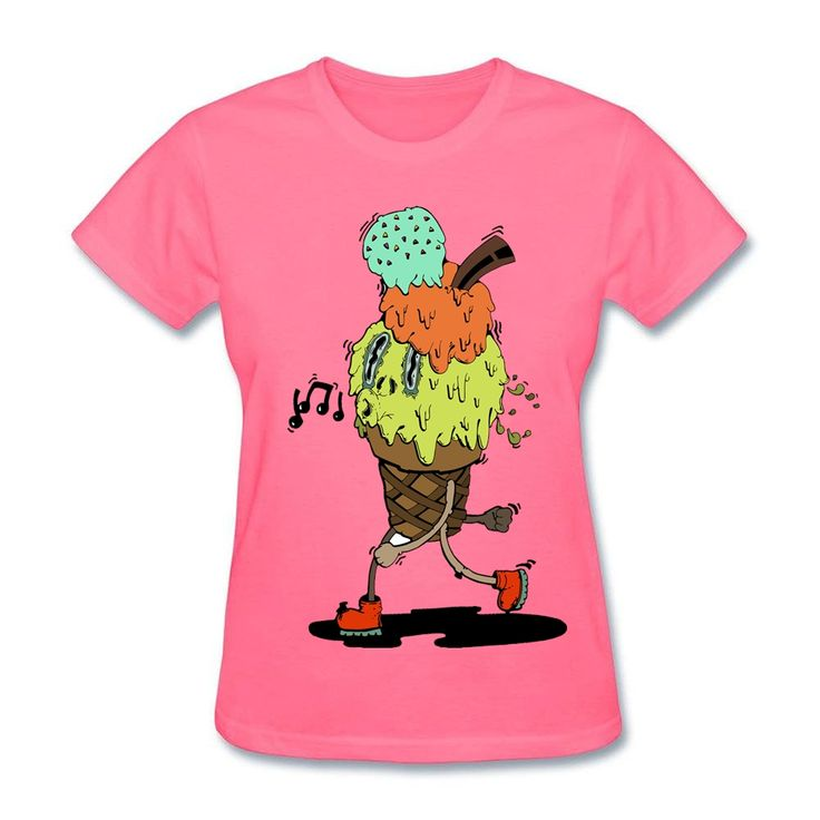 >> Click to Buy << Womens  Own t-shirts with Careless Mr. Ice Cream Comical T-Shirt Creator for  Adult Yellow Tees #Affiliate