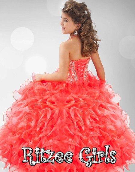 Blush Kids Inc. - Ritzee Girls 6349 | Pageant Dress For Girls,