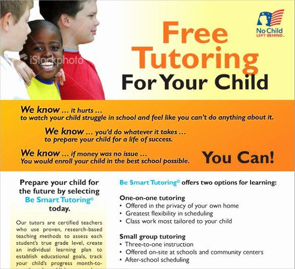 Tutoring Flyer Template Free Word Awesome 17 Best Tutoring Flyer Templates In 2020 Tutoring Flyer Flyer Template Flyer