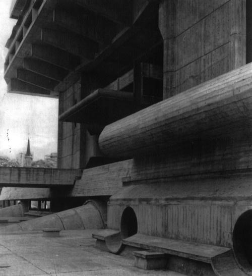 Biblioteca Nacional de la República, Buenos Aires, Argentina, 1962-1995(Clorindo Testa w/ Francisco Bullrich & Alicia Cazzaniga de Bullrich)