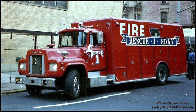 FDNY Rescue 1, Vintage