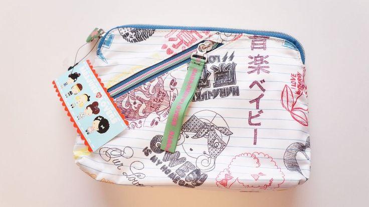 Harajuku Lovers #Doodle #CosmeticBag #MakeUpBag NWT By #GwenStefani