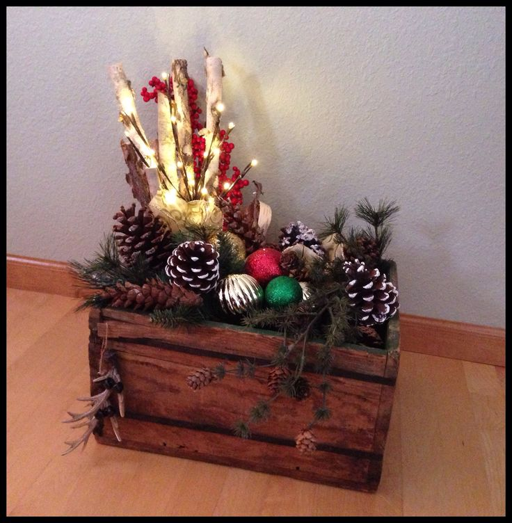 17 Best images about Christmas crate ideas on Pinterest ...