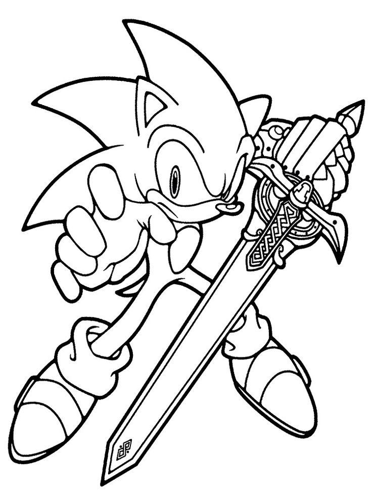 Dibujos Para Pintar Sonic #dibujos #dibujosparapintar # ...