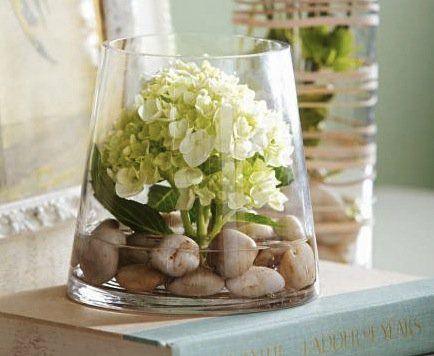 Elegant Creative DIY Flower Arrangements And Unique Vessels. Budget  FlowersHydrangea CenterpiecesVase ... Nice Design