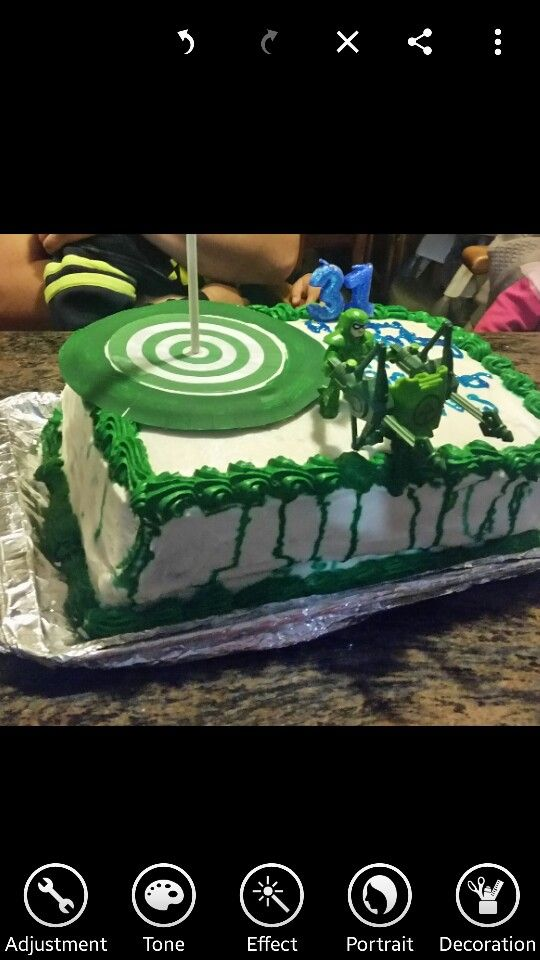 Green Arrow Green Arrow Birthday Party Green Arrow