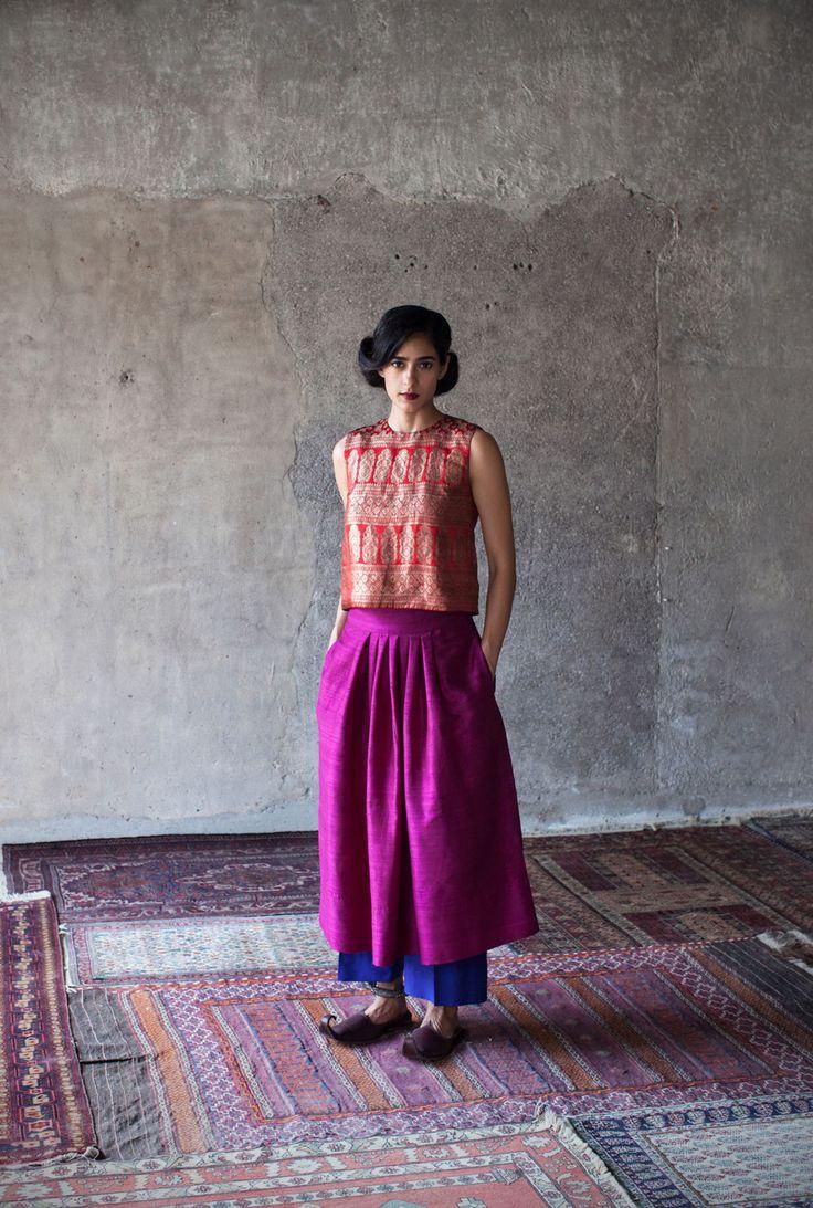 Payal Khandwala rethinks festive dressing   Vogue India   Cat:- Vogue Loves   Author : - Rujuta Vaidya   Type:- Article   Publish Date:- 09-29-2015