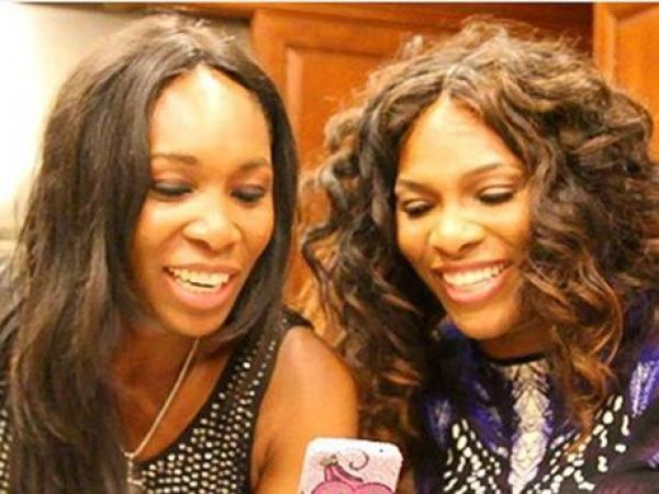 Venus and Serena Williams: if you play tennis, you don't do it as well as them.