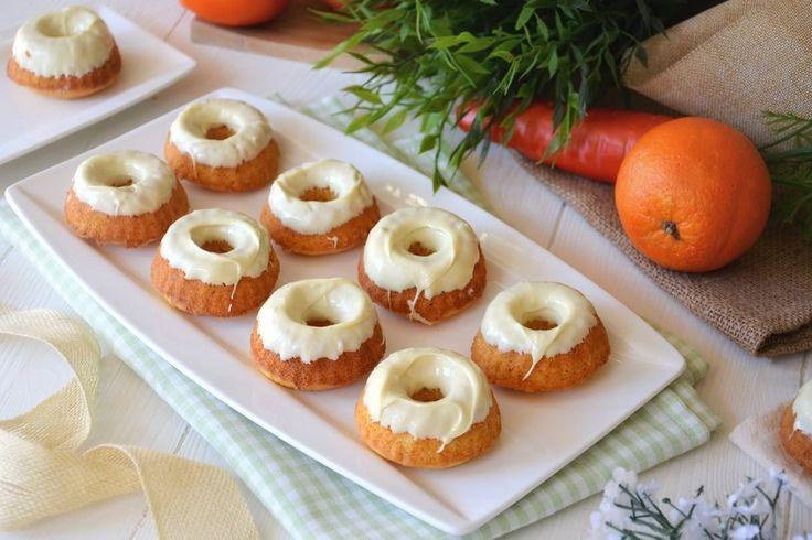 Ciambelline di carote e arancia