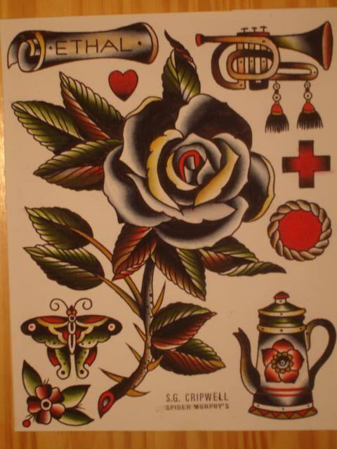 Black rose among others (flash sheet)