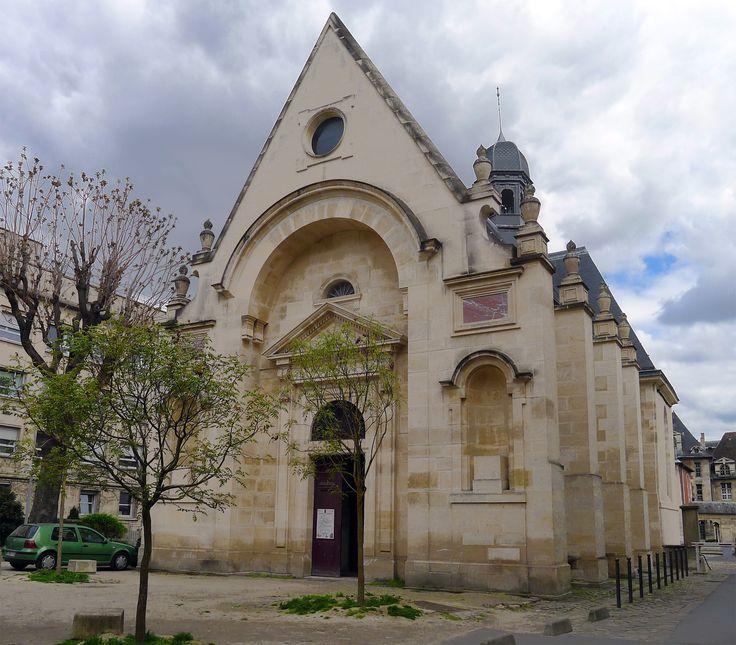 Chpaelle de L'Hopital Saint Louis - Paris 10e