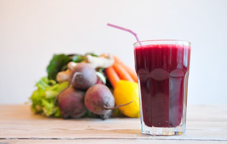 Groentesap de Rode krachtpatser