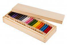 Montessori pomůcky Barevné destičky 2 – rozšířená sada